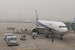 KKiSMさんが、青島流亭国際空港で撮影した全日空 767-381/ERの航空フォト(飛行機 写真・画像)