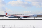 jjieさんが、新千歳空港で撮影した航空自衛隊 777-3SB/ERの航空フォト(飛行機 写真・画像)