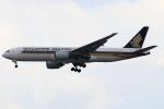 ★azusa★さんが、シンガポール・チャンギ国際空港で撮影したシンガポール航空 777-212/ERの航空フォト(写真)