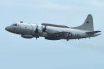 うめやしきさんが、厚木飛行場で撮影したアメリカ海軍 EP-3E Orion (ARIES II)の航空フォト(飛行機 写真・画像)
