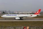 武彩航空公司(むさいえあ)さんが、アタテュルク国際空港で撮影したターキッシュ・エアラインズ A330-343Xの航空フォト(飛行機 写真・画像)