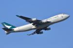meskinさんが、成田国際空港で撮影したキャセイパシフィック航空 747-467F/ER/SCDの航空フォト(写真)