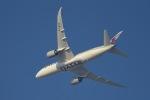cornicheさんが、ドーハ・ハマド国際空港で撮影したカタール航空 787-8 Dreamlinerの航空フォト(飛行機 写真・画像)