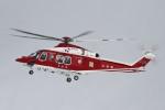 meskinさんが、山形空港で撮影した山形県消防防災航空隊 AW139の航空フォト(写真)