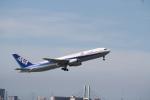 さもんほうさくさんが、伊丹空港で撮影した全日空 767-381の航空フォト(写真)