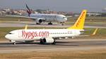 誘喜さんが、アタテュルク国際空港で撮影したペガサス・エアラインズ 737-86Jの航空フォト(写真)