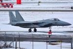 kaoatomさんが、三沢飛行場で撮影した航空自衛隊 F-15J Eagleの航空フォト(飛行機 写真・画像)