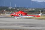 ショウさんが、静岡空港で撮影した石川県消防防災航空隊 412EPの航空フォト(写真)