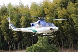 ショウさんが、いわき市で撮影した北海道防災航空隊 412の航空フォト(飛行機 写真・画像)