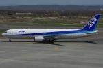 MOR1(新アカウント)さんが、新千歳空港で撮影した全日空 767-381の航空フォト(写真)