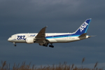 kunimi5007さんが、仙台空港で撮影した全日空 787-8 Dreamlinerの航空フォト(写真)