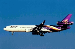 JA8589さんが、成田国際空港で撮影したタイ国際航空 MD-11の航空フォト(写真)