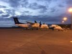 FlyHideさんが、ヨハネ・パウロ2世空港で撮影したSATA  エア・アコーレス DHC-8-402Q Dash 8の航空フォト(写真)