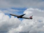 T_pontaさんが、新千歳空港で撮影したチャイナエアライン 777-309/ERの航空フォト(写真)