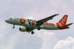 delawakaさんが、シンガポール・チャンギ国際空港で撮影したタイ・エアアジア A320-216の航空フォト(写真)