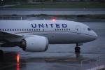 おがりょうさんが、成田国際空港で撮影したユナイテッド航空 787-8 Dreamlinerの航空フォト(写真)