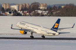 BOSTONさんが、ケプラヴィーク国際空港で撮影したアイスランド航空 757-23Nの航空フォト(飛行機 写真・画像)
