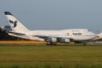 tassさんが、成田国際空港で撮影したイラン航空 747SPの航空フォト(写真)