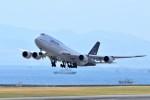 T.Sazenさんが、関西国際空港で撮影したルフトハンザドイツ航空 747-830の航空フォト(飛行機 写真・画像)