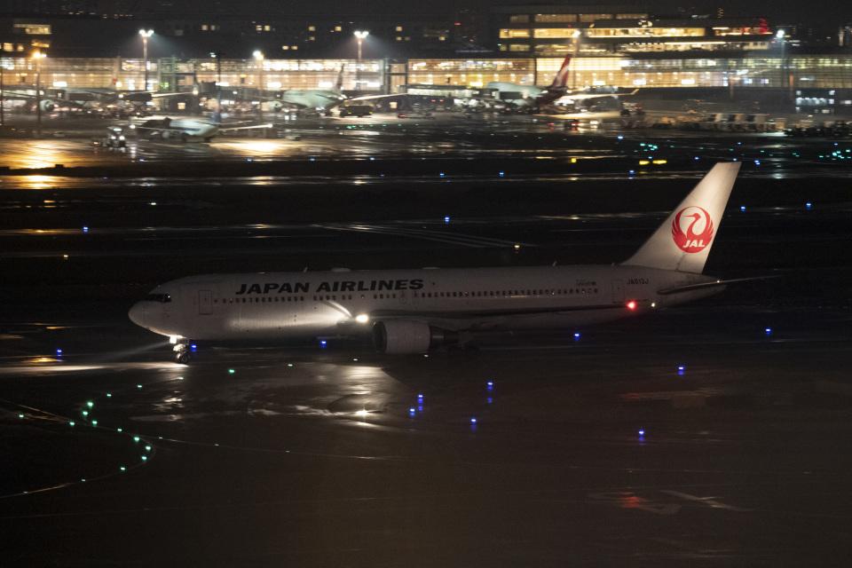はやたいさんの日本航空 Boeing 767-300 (JA613J) 航空フォト