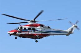 EosR2さんが、枕崎ヘリポートで撮影した三井物産エアロスペース AW139の航空フォト(飛行機 写真・画像)