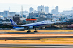 we love kixさんが、伊丹空港で撮影した全日空 777-281/ERの航空フォト(飛行機 写真・画像)