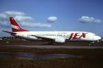 tassさんが、名古屋飛行場で撮影したJALエクスプレス 737-446の航空フォト(写真)