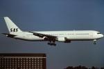tassさんが、成田国際空港で撮影したスカンジナビア航空 767-383/ERの航空フォト(写真)