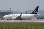 プルシアンブルーさんが、仙台空港で撮影したコンチネンタル航空 737-724の航空フォト(写真)