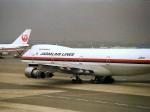 エルさんが、羽田空港で撮影した日本航空 747SR-46の航空フォト(写真)