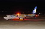 pringlesさんが、長崎空港で撮影したスカイマーク 737-8FHの航空フォト(写真)