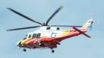 otromarkさんが、八尾空港で撮影した鳥取県消防防災航空隊 AW139の航空フォト(写真)