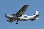 mogusaenさんが、調布飛行場で撮影したアジア航測 208 Caravan Iの航空フォト(飛行機 写真・画像)