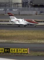 planetさんが、羽田空港で撮影したホンダ・エアクラフト・カンパニー HA-420 HondaJetの航空フォト(写真)