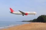 しかばねさんが、プーケット国際空港で撮影したロイヤル・フライト 767-3Q8/ERの航空フォト(写真)