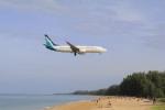 しかばねさんが、プーケット国際空港で撮影したシルクエア 737-8SAの航空フォト(写真)