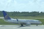 サイパンだ!さんが、アントニオ・B・ウォン・パット国際空港で撮影したユナイテッド航空 737-724の航空フォト(写真)