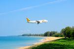 まいけるさんが、プーケット国際空港で撮影したタイガー・エアウェイズ A320-232の航空フォト(写真)