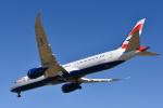 パンダさんが、成田国際空港で撮影したブリティッシュ・エアウェイズ 787-9の航空フォト(飛行機 写真・画像)