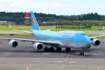 Kuuさんが、成田国際空港で撮影した大韓航空 747-8B5の航空フォト(飛行機 写真・画像)