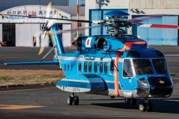 まんぼ しりうすさんが、東京ヘリポートで撮影した警視庁 S-92Aの航空フォト(飛行機 写真・画像)
