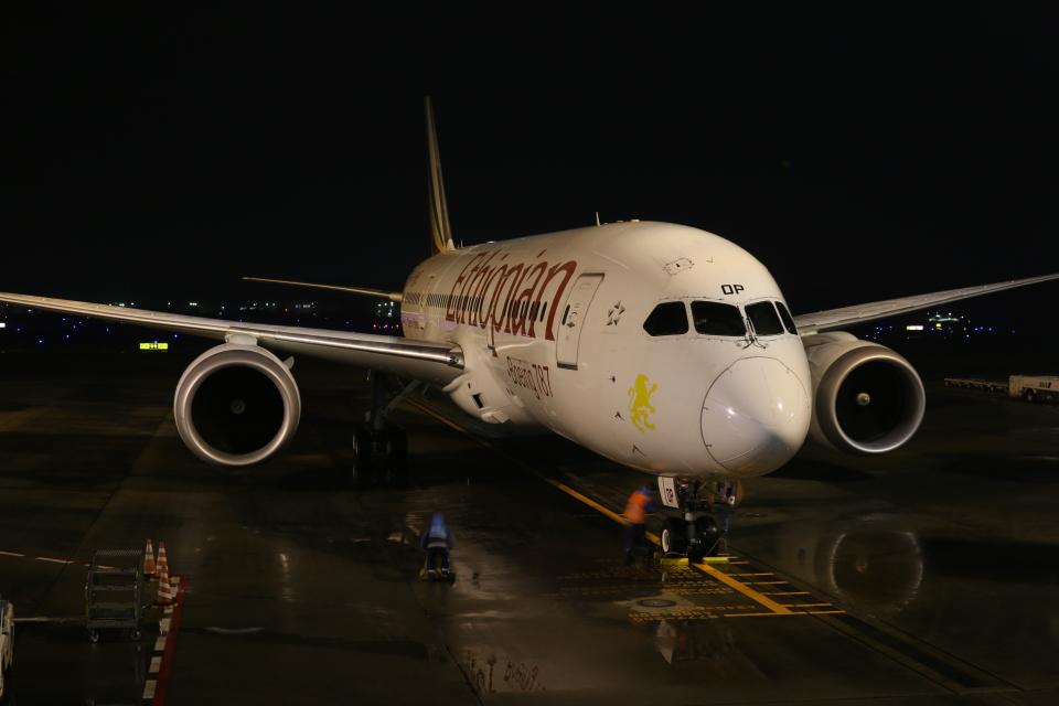 DREAMWINGさんのエチオピア航空 Boeing 787-8 Dreamliner (ET-AOP) 航空フォト