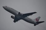 鉄バスさんが、関西国際空港で撮影した日本トランスオーシャン航空 737-446の航空フォト(飛行機 写真・画像)
