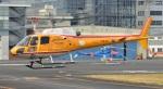 Soraya_Projectさんが、東京ヘリポートで撮影したオールラウンドヘリコプター AS350B Ecureuilの航空フォト(写真)