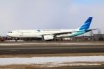 北の熊さんが、新千歳空港で撮影したガルーダ・インドネシア航空 A330-341の航空フォト(飛行機 写真・画像)