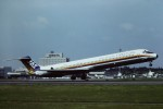 tassさんが、鹿児島空港で撮影した日本エアシステム MD-81 (DC-9-81)の航空フォト(飛行機 写真・画像)