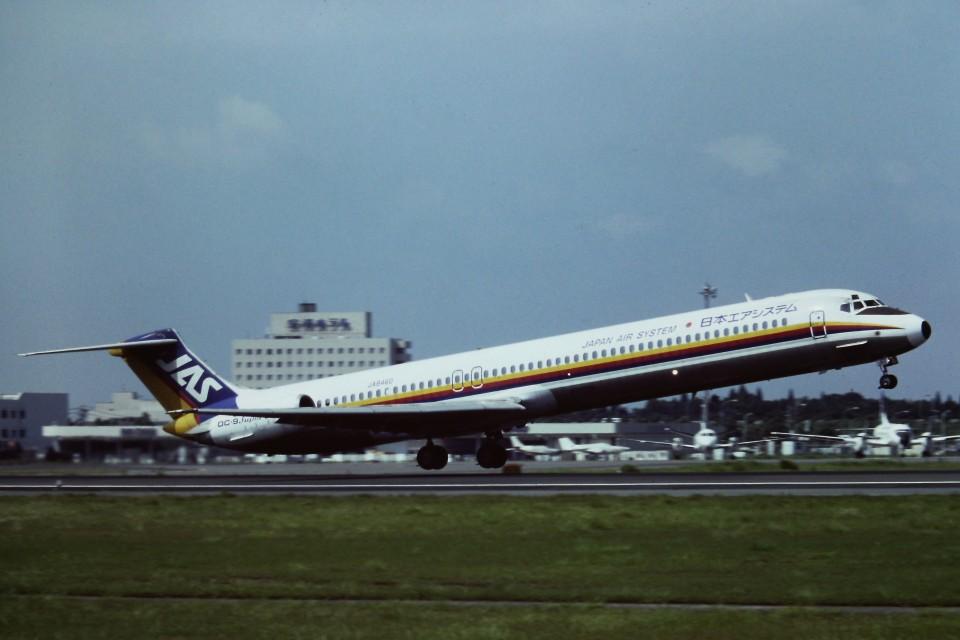 tassさんの日本エアシステム McDonnell Douglas MD-80 (DC-9-80) (JA8460) 航空フォト