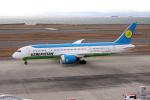 yabyanさんが、中部国際空港で撮影したウズベキスタン航空 787-8 Dreamlinerの航空フォト(写真)