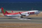 yabyanさんが、中部国際空港で撮影したティーウェイ航空 737-8HXの航空フォト(飛行機 写真・画像)