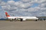 さもんほうさくさんが、釧路空港で撮影したトランスアジア航空 A321-131の航空フォト(写真)